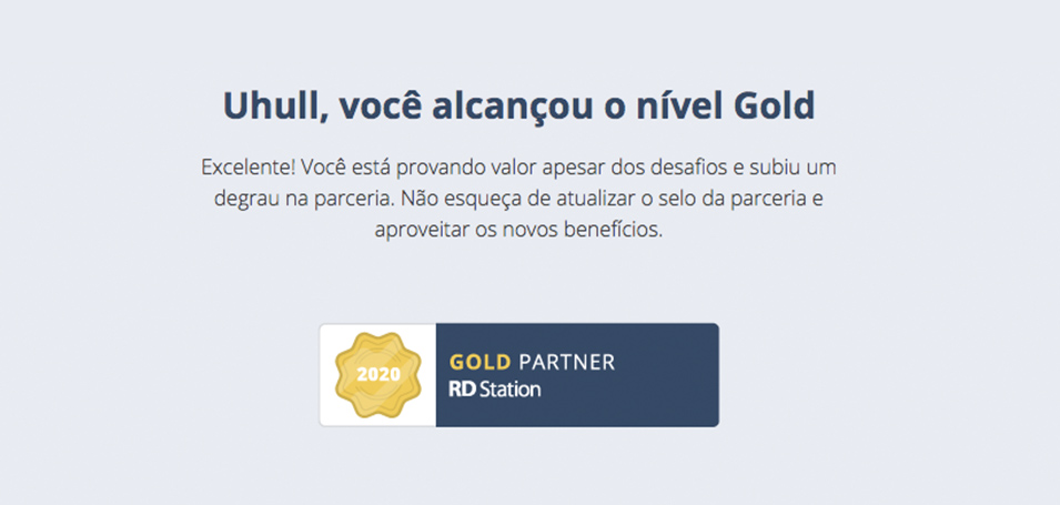 Agência Gold Partner RD Station